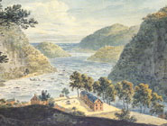 Blue Ridge Gap at Harpers Ferry