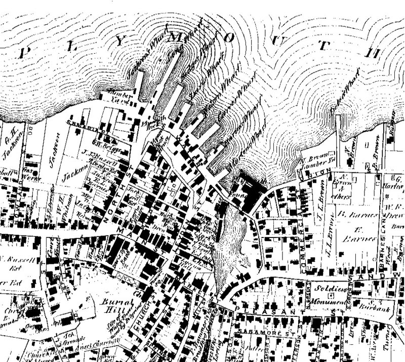 1879 Map of Plymouth