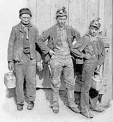 late 19th century coal miners