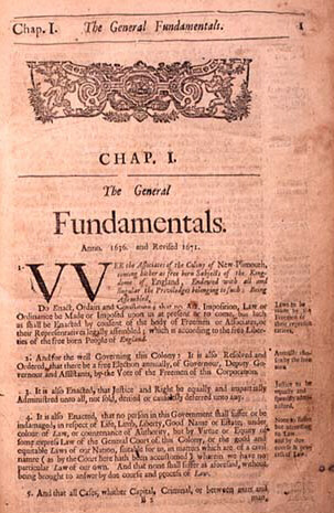 The General Fundamentals of New Plimouth