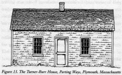 Figure 13. Turner-Burr House, Parting Ways, Plymouth, Massachusetts